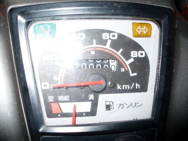 20000.0kmの走行メーター